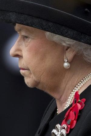 Profile of Queen Elizabeth II