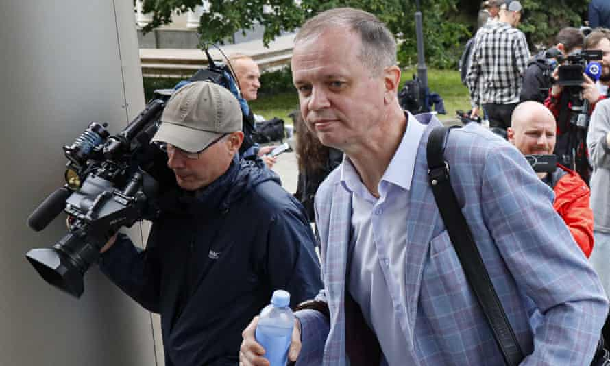 Russian lawyer Ivan Pavlov, part of the Team 29 rights group, faces a criminal trial in Moscow after Russian authorities brought a case against him in April.