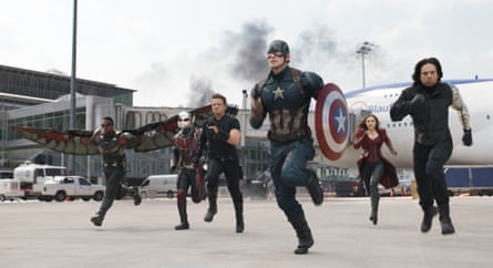 Marvel's cinematic universe came together in Captain America: Civil War.