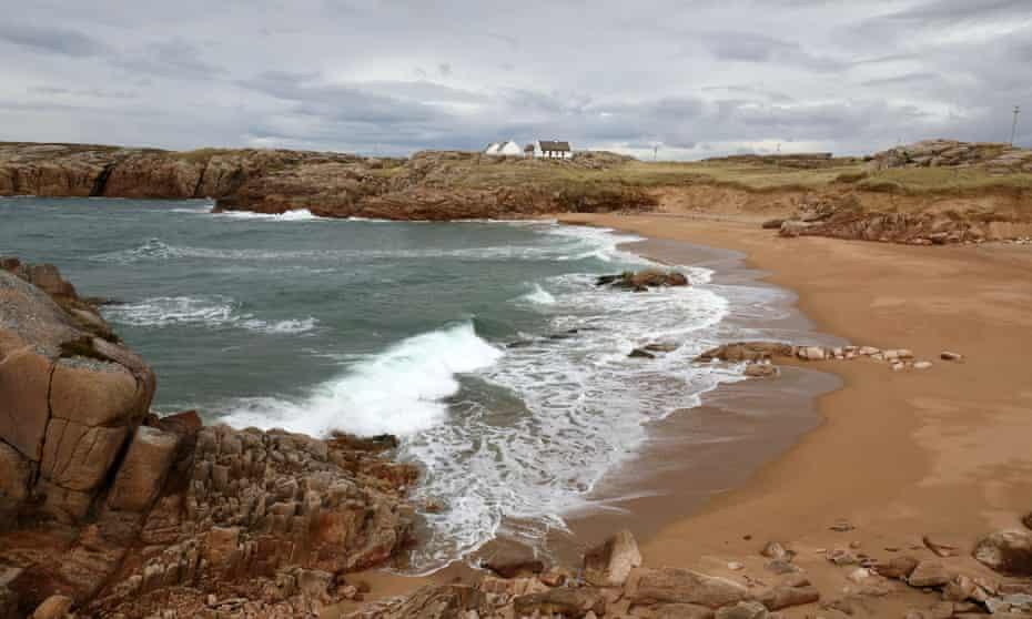 Beach on Cruit Island, Donegal