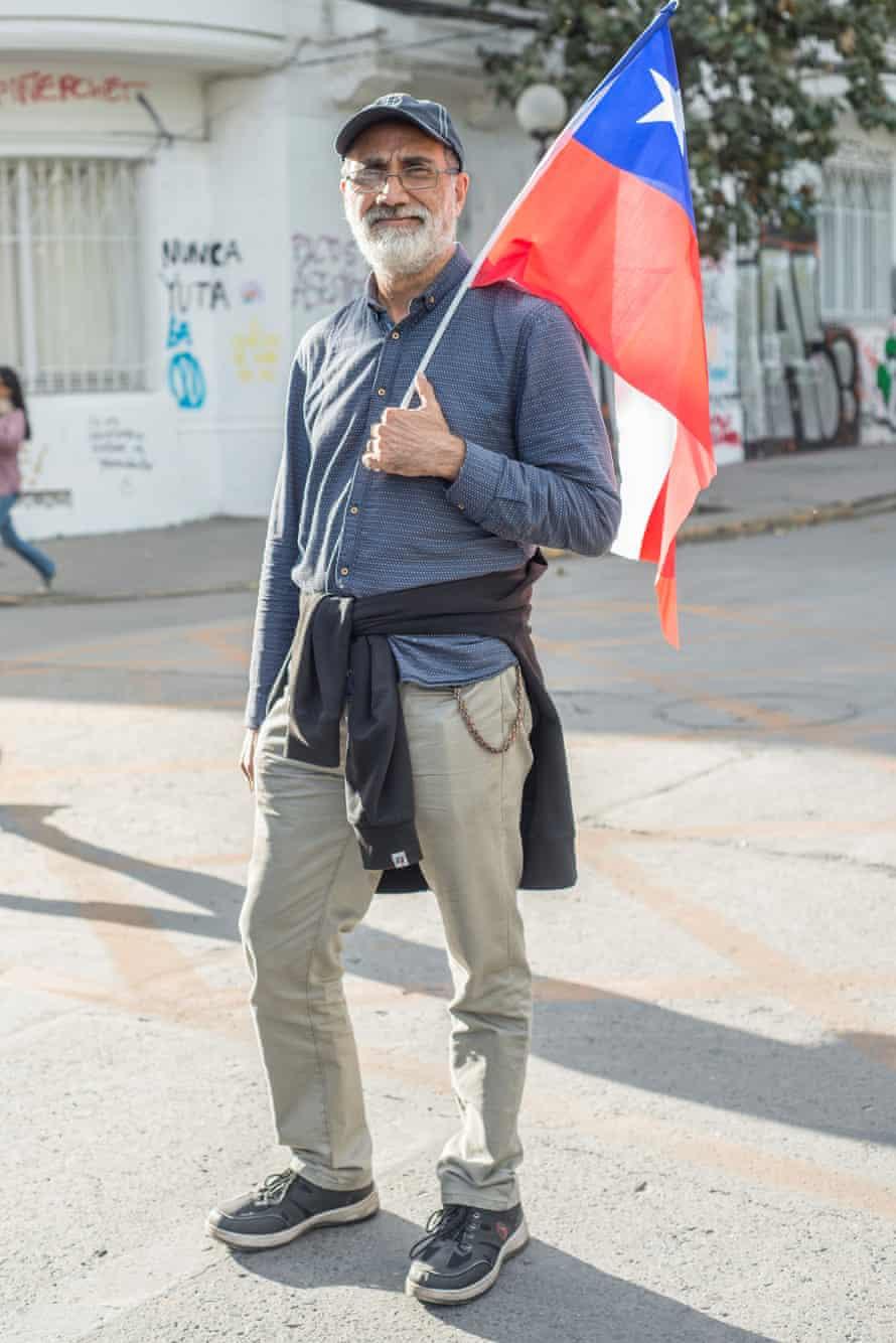 Juan Angel, 60 years old.