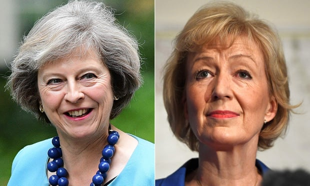 PT Kontak perkasa - Theresa May v Andrea Leadsom