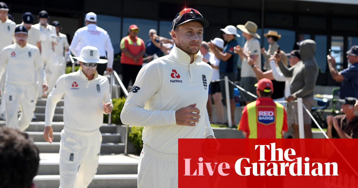New Zealand v England: first Test, day three – live!