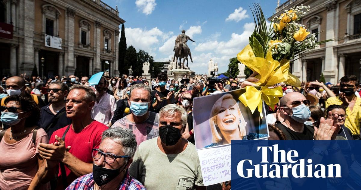 Raffaella Carrà, Italian cultural institution and LGBT icon, laid to rest in Rome