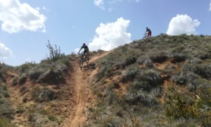Singletrack , Red Rock Trails, Spanish Pyrenees, Spain