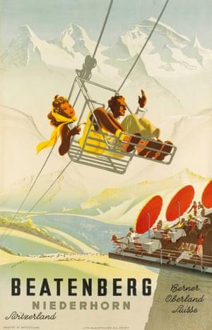 Beatenberg Niederhorn. 1945. By Martin Peikert (1901-1975)