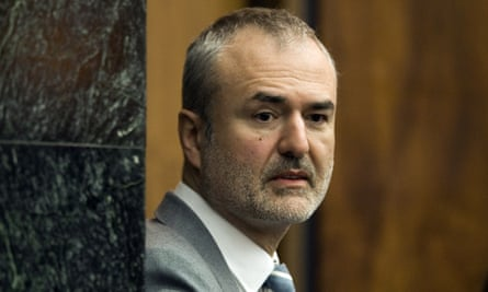 Gawker Media founder Nick Denton in a Florida courtroom. A Florida awarded $140 million to Hulk Hogan in a privacy case revolving around a sex tape posted on Gawker.com.