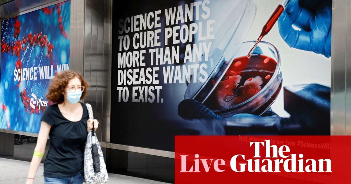 Covid live: more than 70 million Americans still unvaccinated; brawls mar reopening of bars in Norway