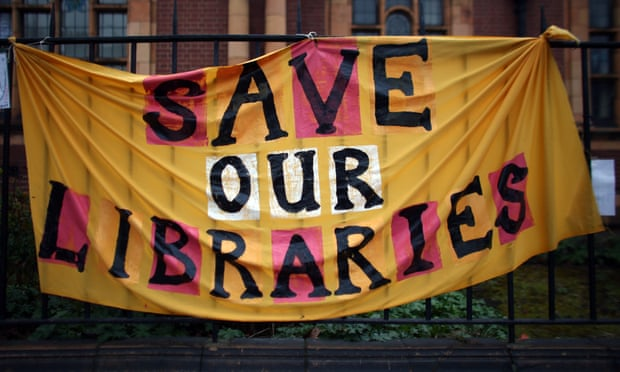 Image result for libraries under threat protests