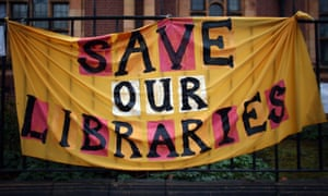 Save our libraries poster