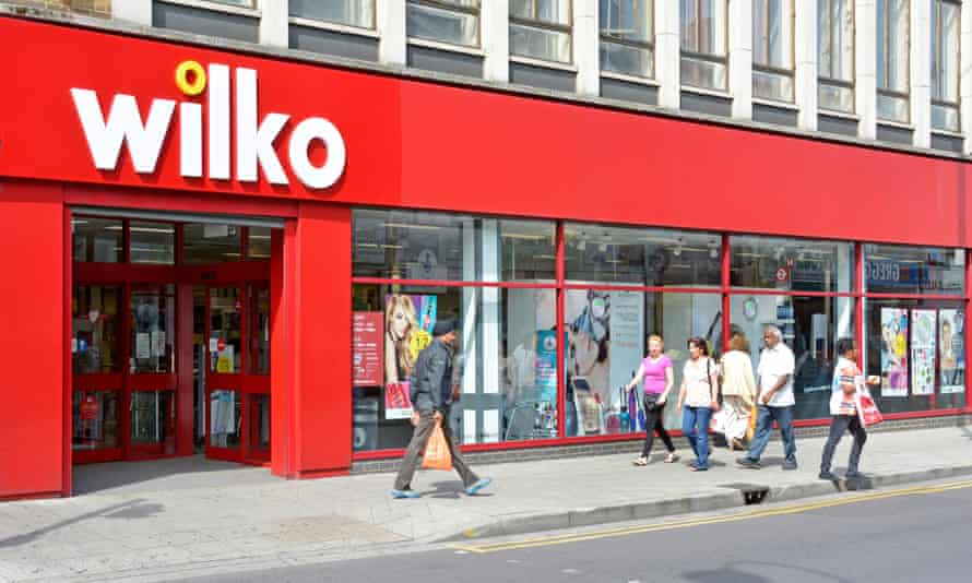 Wilko has reported an 80% drop in full-year profits.