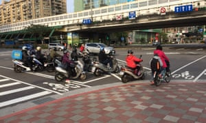 Taipei cycling.