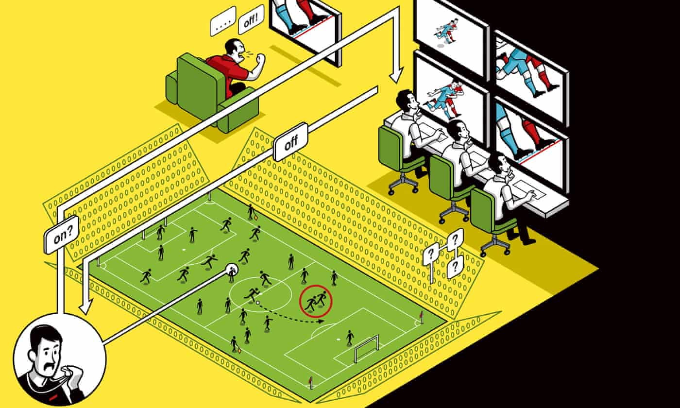 Inside the VAR bunker: a test for my irrational suspicion of referees