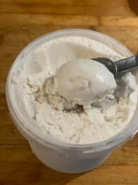 Violet Bee's vegan coconut milk ice-cream.
