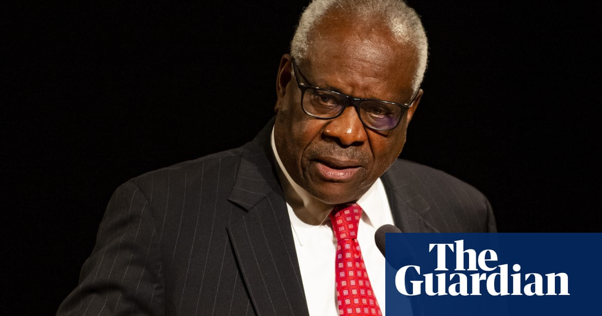 Clarence Thomas insists supreme court justices do not rule based on politics