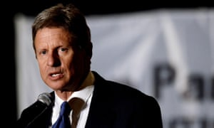 gary johnson speaking
