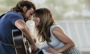 Bradley Cooper and Lady Gaga in A Star is Born.
