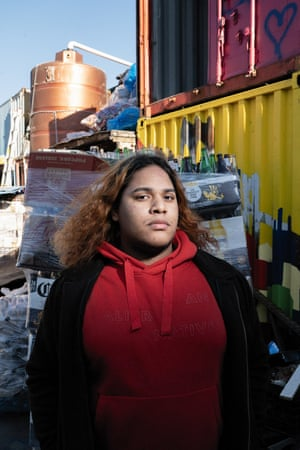 Angel, 19, was born and raised in Brooklyn by parents who emigrated to the US from the Dominican Republic. Angel began canning to help his grandma.