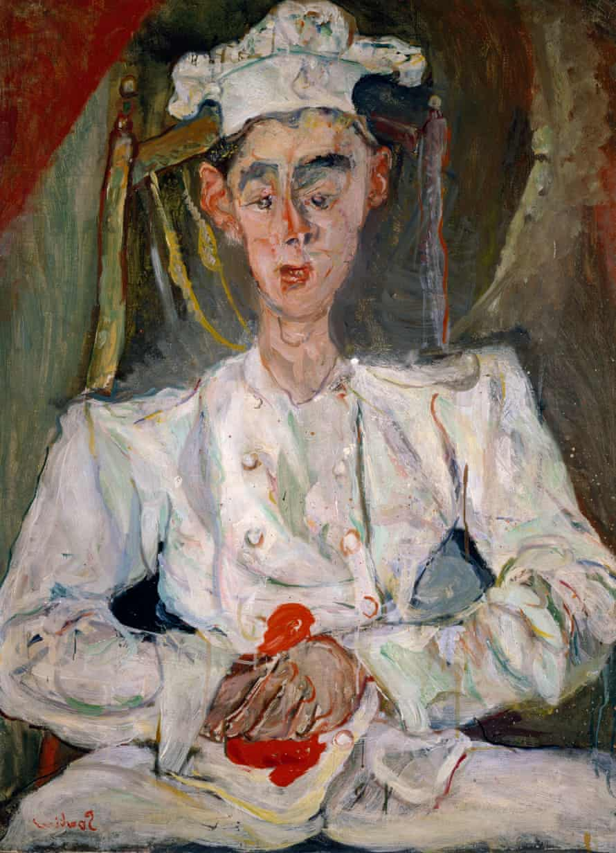 The Young Pastry Maker by Chaïm Soutine.