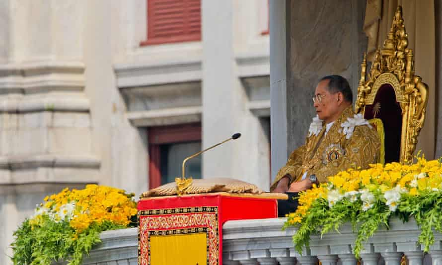 Criticising King Bhumibol Adulyadej is a serious offence under Thai law.