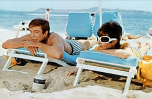 Albert Finney and Audrey Hepburn in Two for the Road