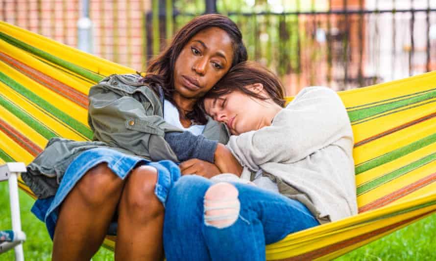 A bold, fascinating psycho-drama … Natalie Blake (Nikki Amuka-Bird) and Leah Hanwell (Phoebe Fox) in NW.