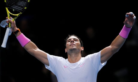 Rafael Nadal battles back from the brink to beat Medvedev in thrilling style
