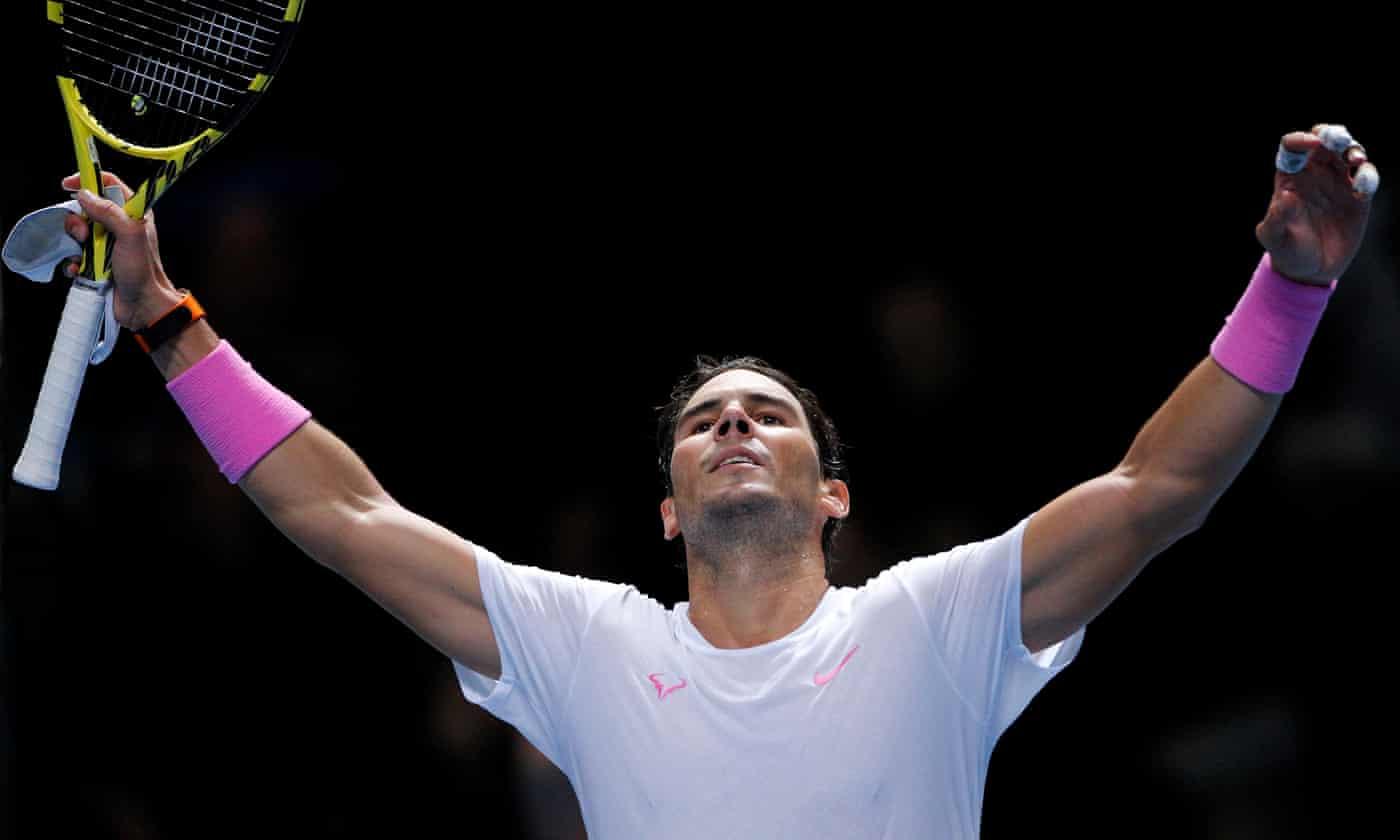 Rafael Nadal roars back to beat Daniil Medvedev in three close sets