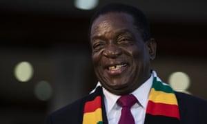 President Elect Emmerson Mnangagwa