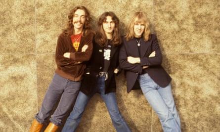L-R: Neil Peart, Geddy Lee, Alex Lifeson.