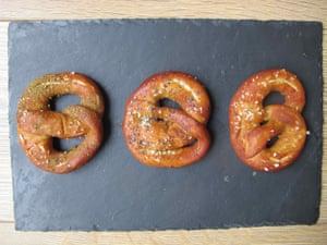 Anne Shooter's pretzels.