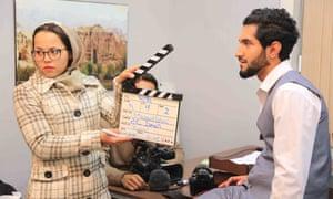 Still from Afghan show Roya
