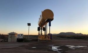 Un puits près de la réserve nationale de faune de San Bernardino.