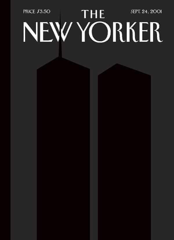 Art Spiegelman's New Yorker cover.