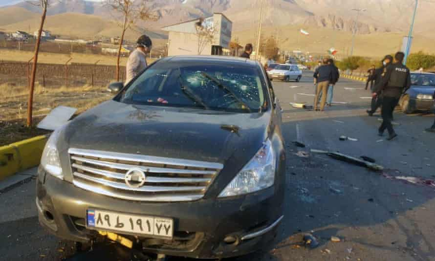 Mohsen Fakhrizadeh was killed while driving on a highway near Tehran.