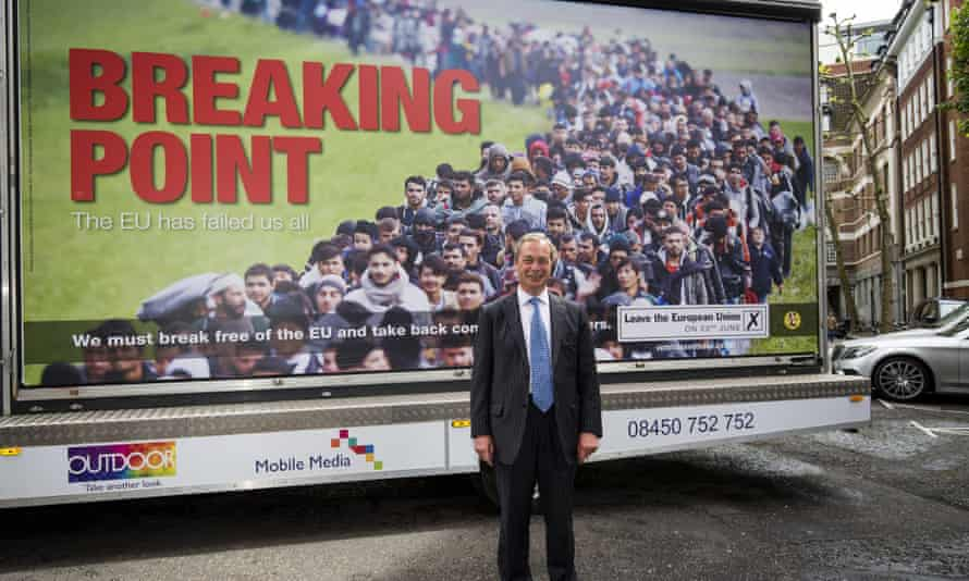 Nigel Farage and the notorious anti-immigration poster