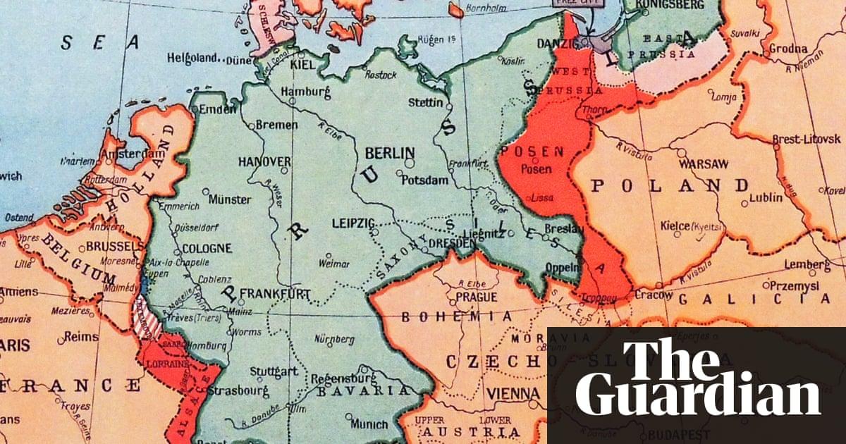 a map of prussia circa 1870