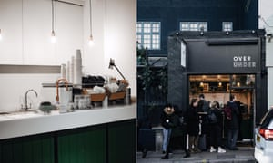 Coffee Over Under; exterior and interior