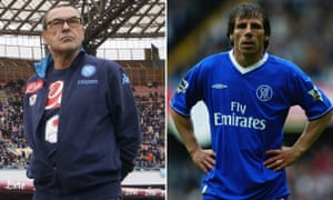 Chelsea are closing in on Maurizio Sarri, with former player Gianfranco Zola likely to join his backroom team.
