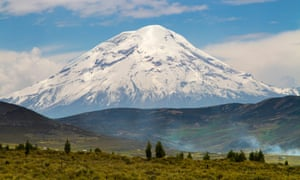 Chimborazo, Ecuador: the real roof of the world.