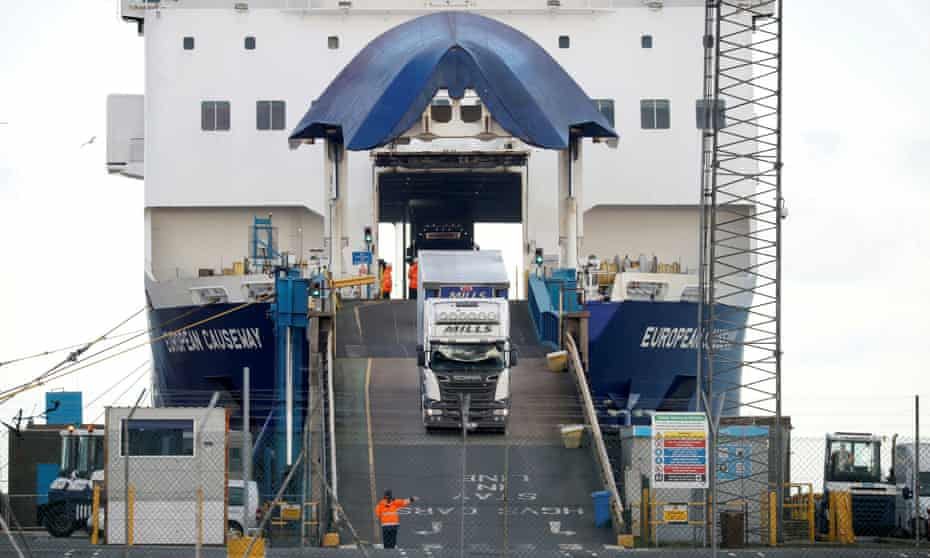 Up to 50% of customs checks on goods entering Northern Ireland would be lifted.