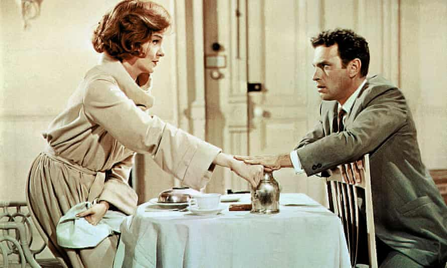 Rip Torn and Geraldine Page in Sweet Bird of Youth, 1962.