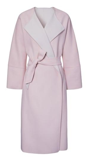 Belted coat, £560, by Weekend Max Mara.