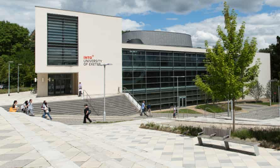 The University of Exeter campus