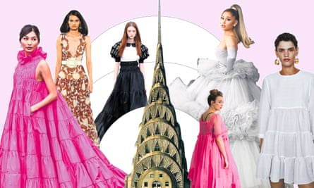 Tower Dressing How The Chrysler Building Inspired 2020 S First Big Fashion Trend Dresses The Guardian