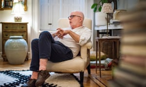 Michael Wolff, author of Fire and Fury, at his home in New York City.
