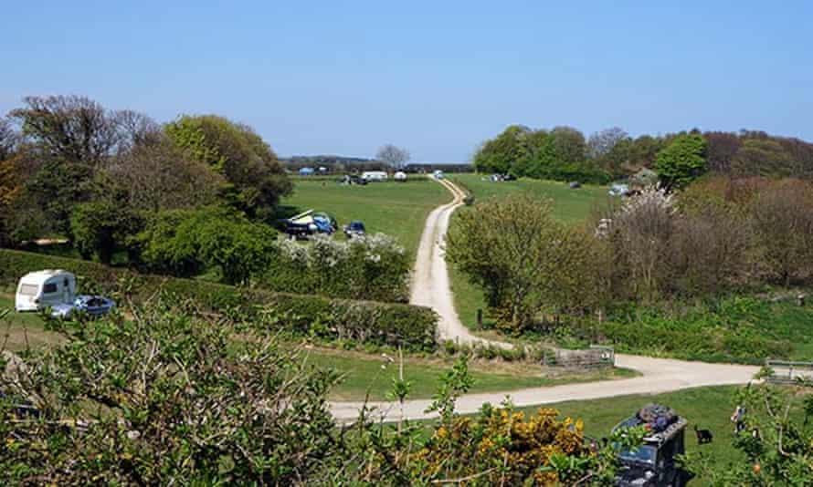 Manor Farm campsite, Norfolk