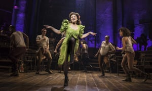 Amber Gray and the cast of Hadestown, leading with 14 nominations.