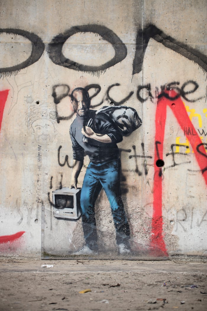 Power To The Art Of Protest Art And Design The Guardian - People cant decide if theyre ok with this street artists ironic messages