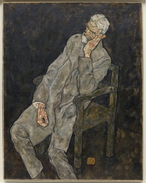 Portrait of an Old Man (Johanes Harms) (1916)
